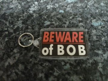 Beware of Bob Jumbo Keyring. Inspired by Twin Peaks. Laura Palmer, Leyland